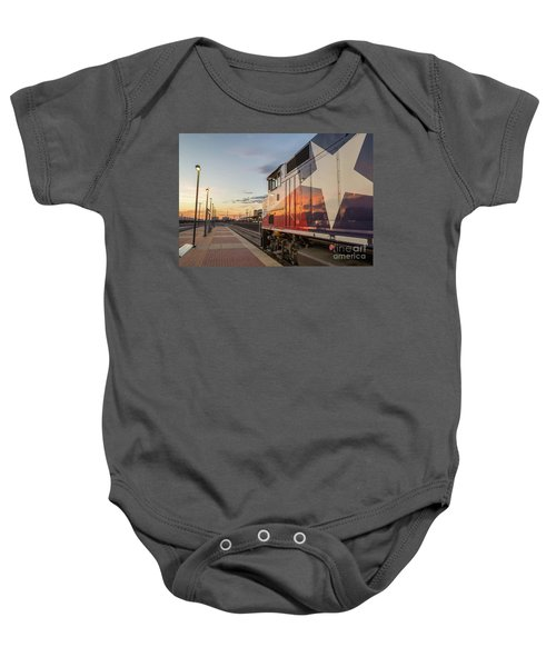 Rolling Into The Sunset Baby Onesie