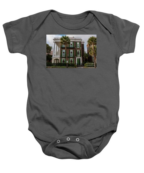 Roper Mansion In December Baby Onesie