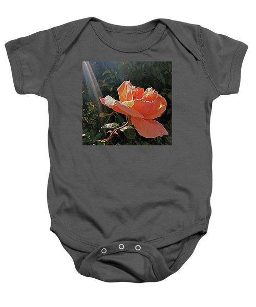 Rose And Rays Baby Onesie