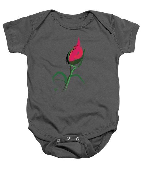 Rose Bud Baby Onesie