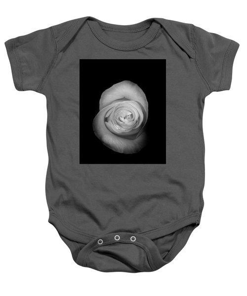 Rose From The Shadows Baby Onesie