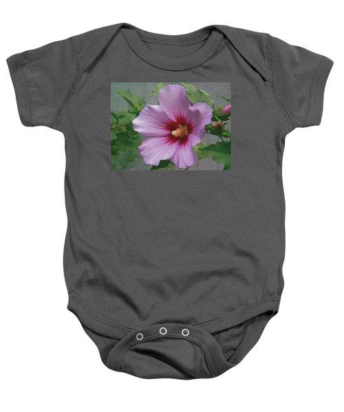 Rose Of Sharon Baby Onesie