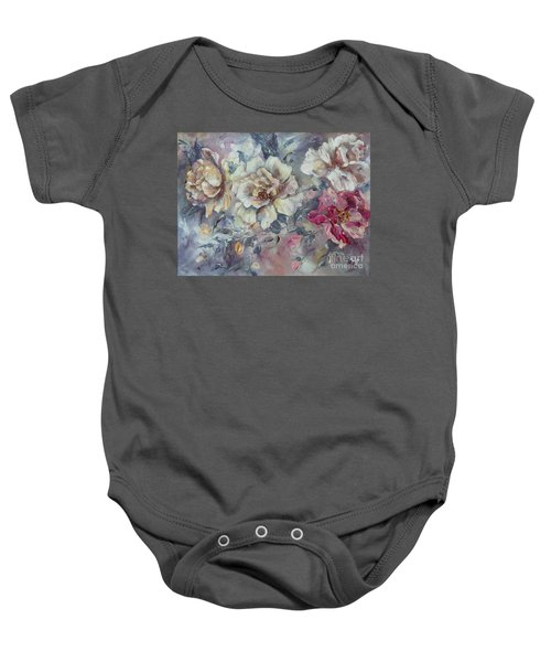 Roses From A Friend Baby Onesie