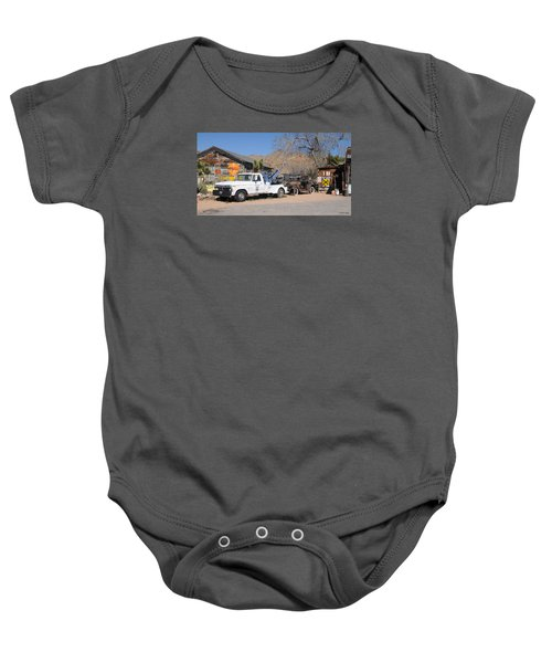 Route 66 Old Shell Service Station Baby Onesie