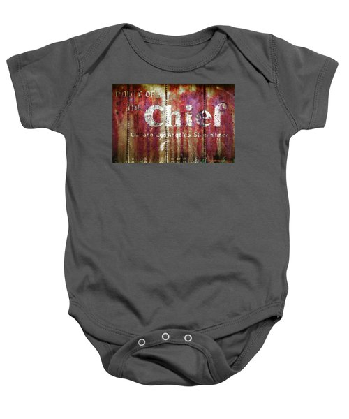 Route Of The Chief Baby Onesie
