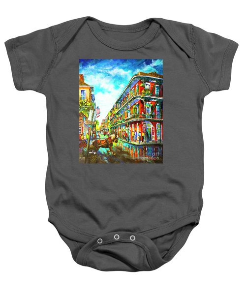 Royal Carriage - New Orleans French Quarter Baby Onesie