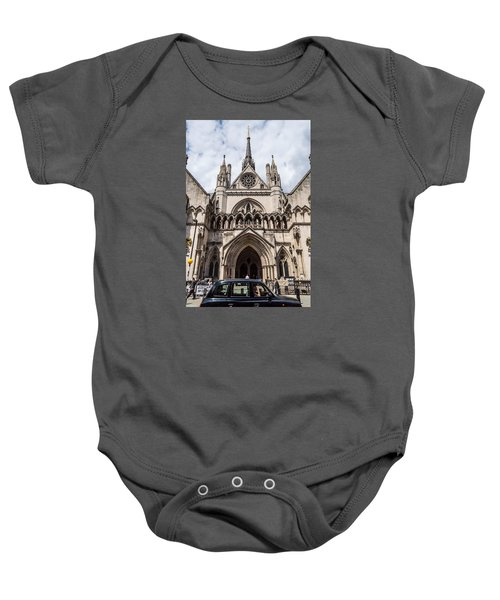 Royal Courts Of Justice In London Baby Onesie