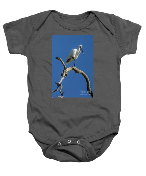 Royal Spoonbill 01 Baby Onesie