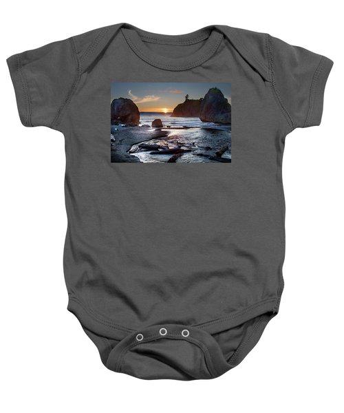 Ruby Beach #1 Baby Onesie