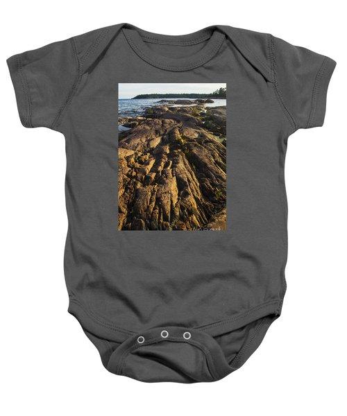 Rugged Killarney Shoreline-4441 Baby Onesie