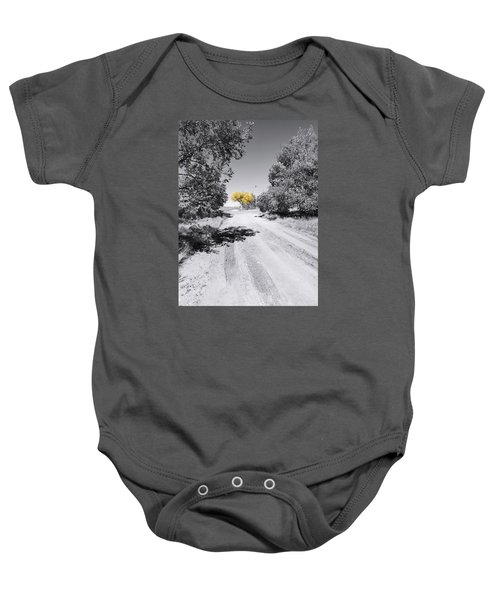 Rural Autumn Splash Baby Onesie