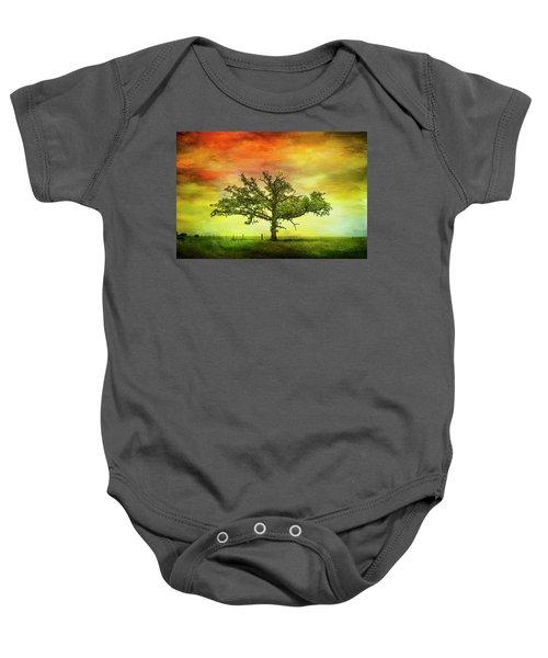 Rushford Tree On 43 Baby Onesie