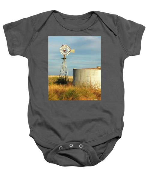 Rust Find Its Place Baby Onesie