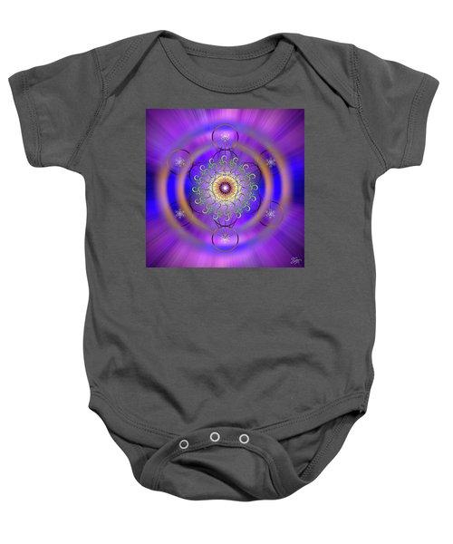 Sacred Geometry 658 Baby Onesie