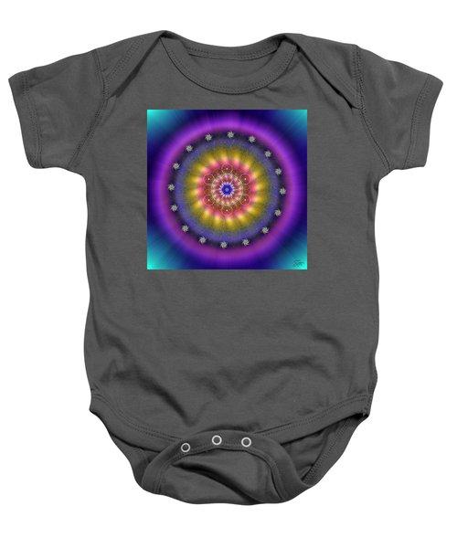 Sacred Geometry 659 Baby Onesie