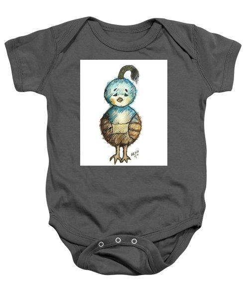 Baby Quail Baby Onesie