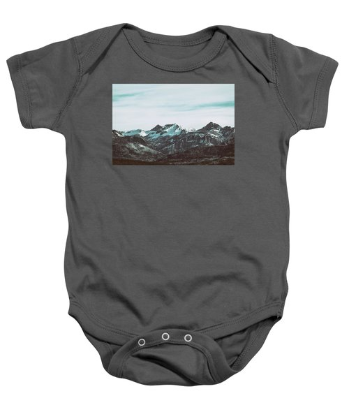 Saddle Mountain Morning Baby Onesie
