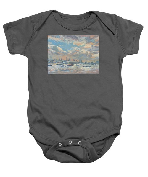 Sail Regatta On The Ij Baby Onesie