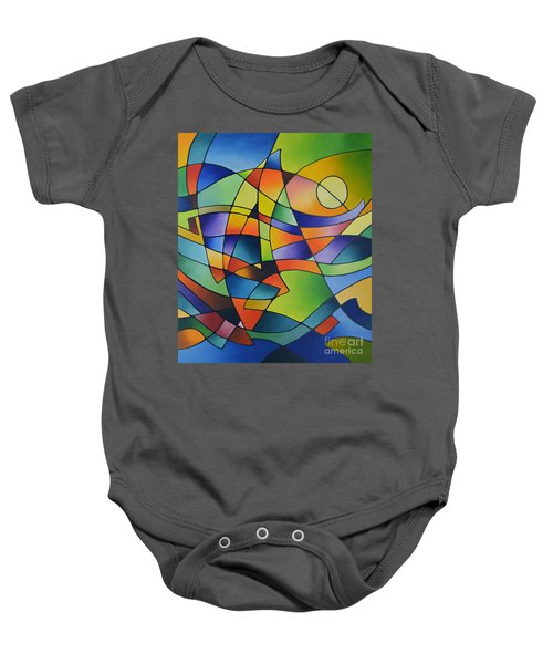 Sailing Away, Canvas Two Baby Onesie