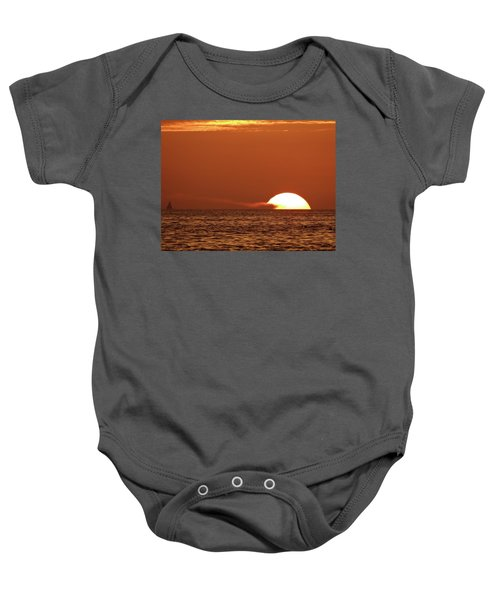 Sailing In The Sunset Baby Onesie