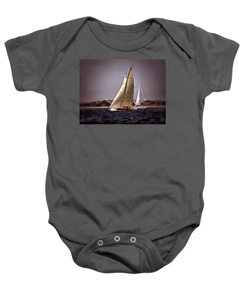 Sailing To Nantucket 005 Baby Onesie