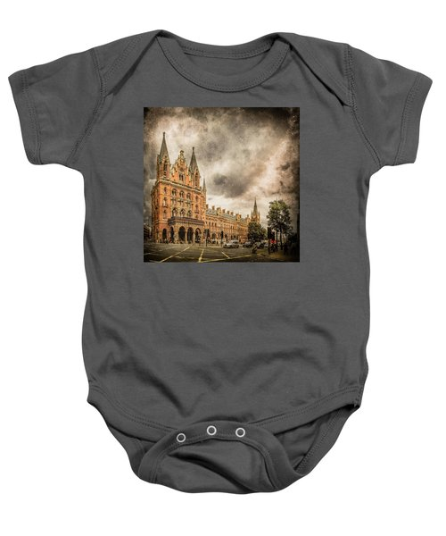 London, England - Saint Pancras Station Baby Onesie
