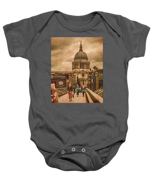 London, England - Saint Paul's In The City Baby Onesie
