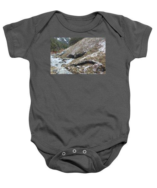 San Antonio Glacier Baby Onesie