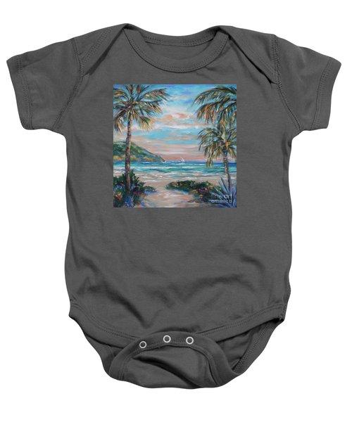 Sand Bank Bay Baby Onesie