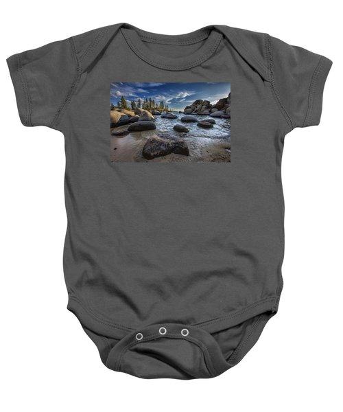 Sand Harbor II Baby Onesie