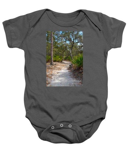 Sandy Path In Hunting Island South Carolina Baby Onesie