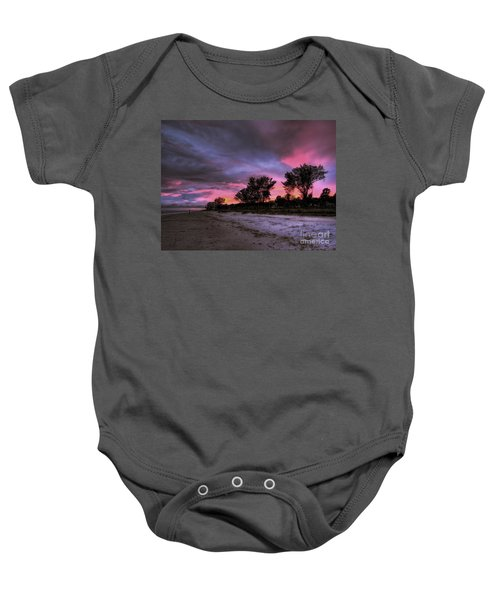 Sanibel Island Twilight Baby Onesie