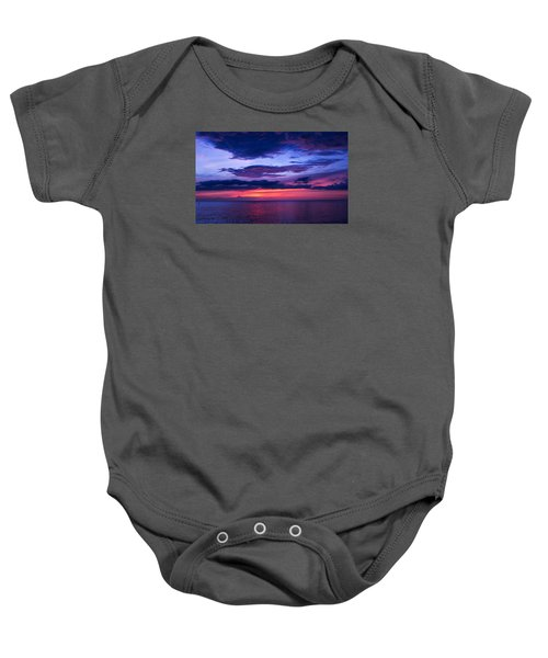 Sanibel Sunset Baby Onesie