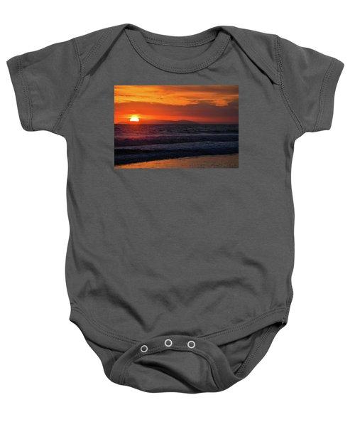 Santa Catalina Island Sunset Baby Onesie