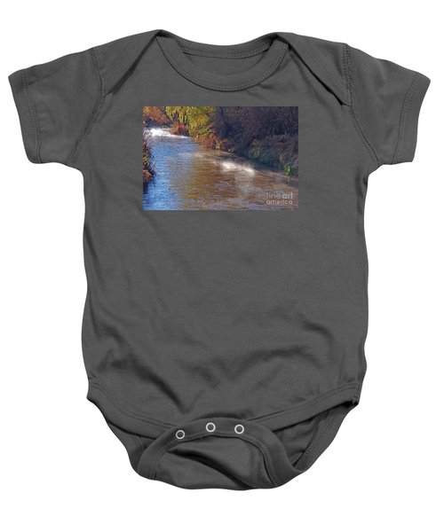 Santa Cruz River - Arizona Baby Onesie