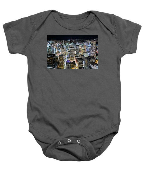 Seattle Lights Baby Onesie