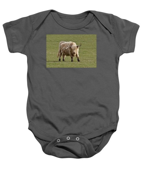 Sauvie Island Cow Baby Onesie