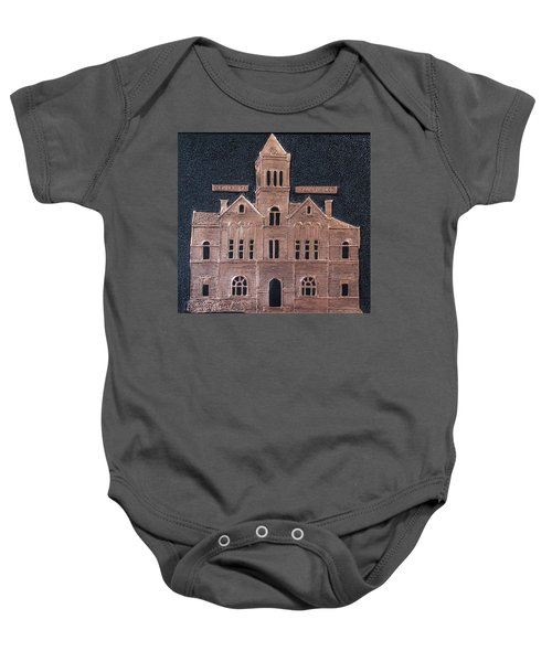 Schley County, Georgia Courthouse Baby Onesie