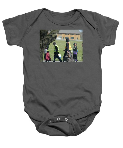 School's Out- Four Baby Onesie
