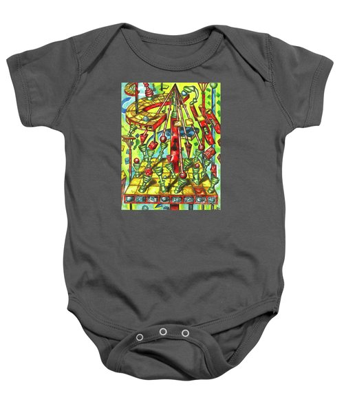 Science Of Chess Baby Onesie