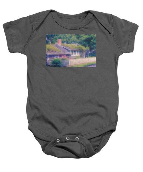 Sconset Cottage #3 Baby Onesie