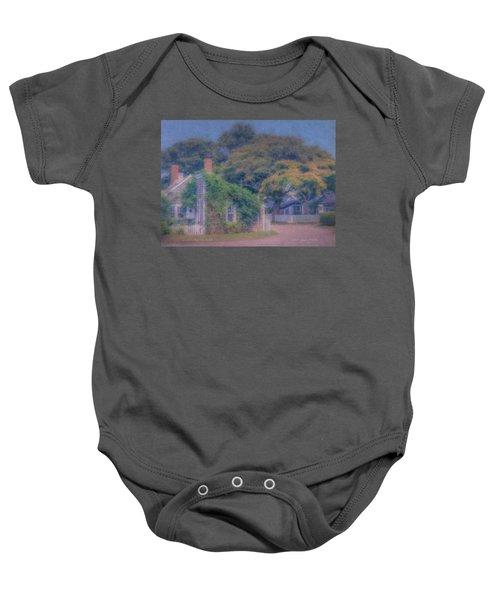 Sconset Cottages Nantucket Baby Onesie