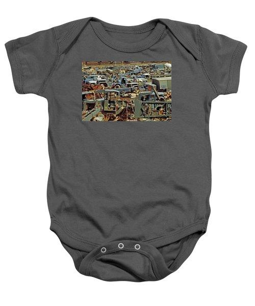 Scrap Metal-#1 Baby Onesie