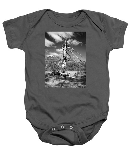 Sculpted By Time Baby Onesie