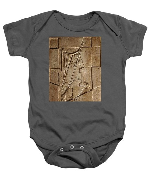Sculptured Panel - Influenced By Picasso's Painting Having The Number 1 Baby Onesie