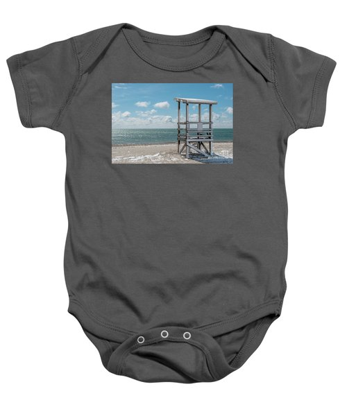 Sea Gull Beach #2 Baby Onesie