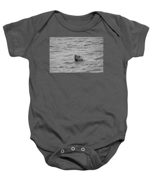 Sea Lion In The Wild Baby Onesie