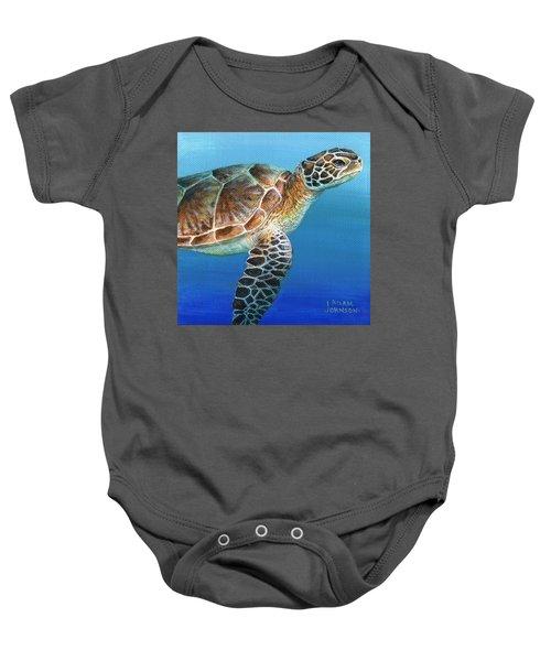 Sea Turtle 2 Of 3 Baby Onesie