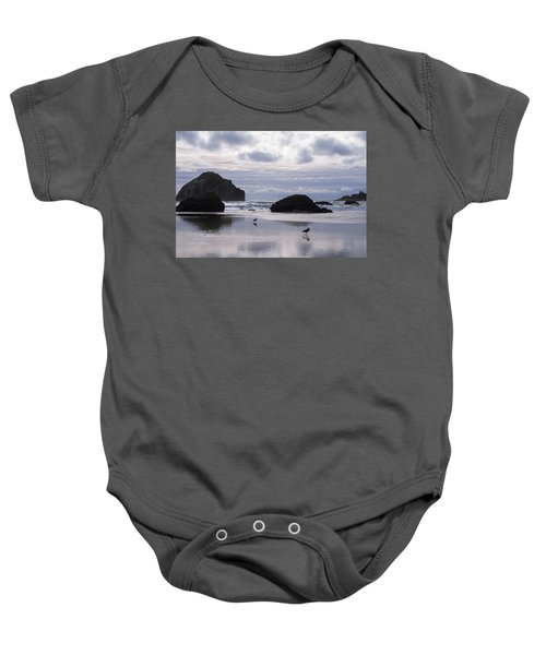 Seagull Reflections Baby Onesie