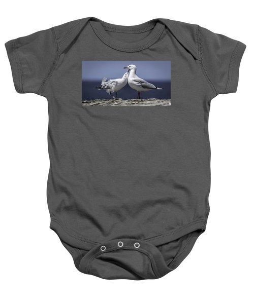 Seagulls Baby Onesie
